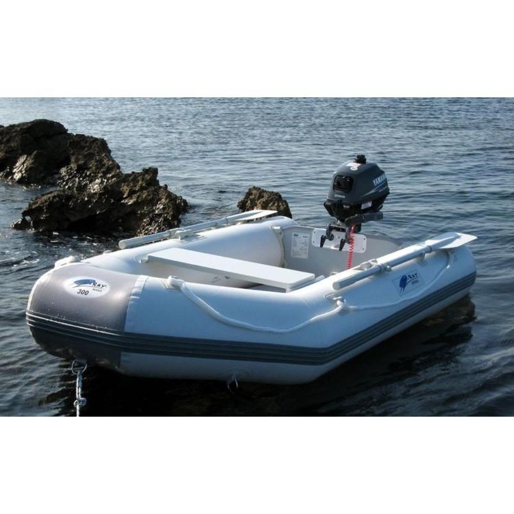 Gommone Tender Canotto Gonfiabile ZRAY II 700 Pagliolato Alluminio Remi Pompa Inclusi Motorizzabile
