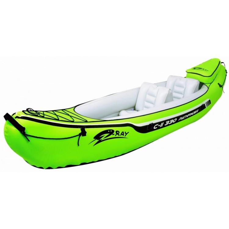 USATO - Kayak Canoa Gonfiabile Doppio Jilong Pathfinder C-II 330 Biposto