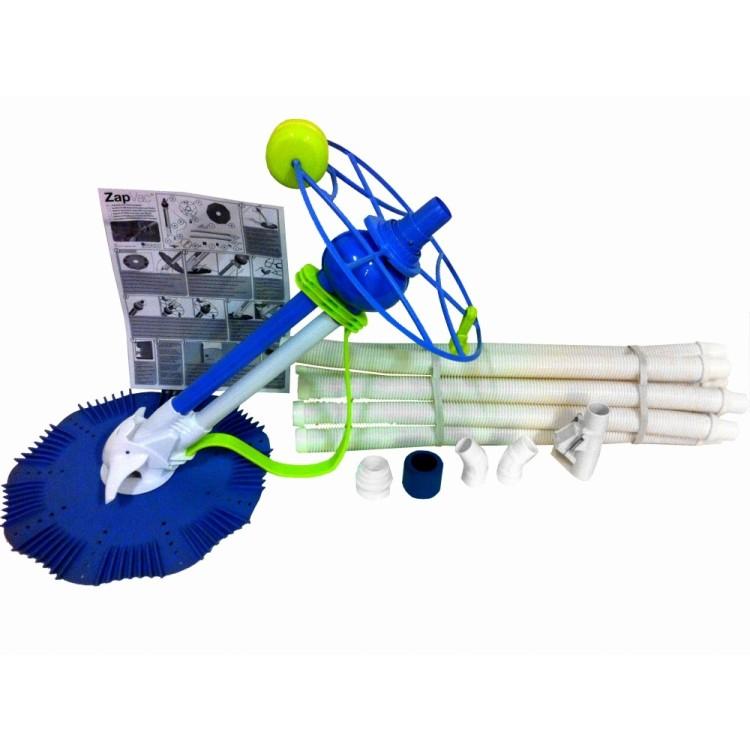 Robot Idraulico Pulitore per Piscina Moko Super Clean II per Piscine Interrate e Fuoriterra