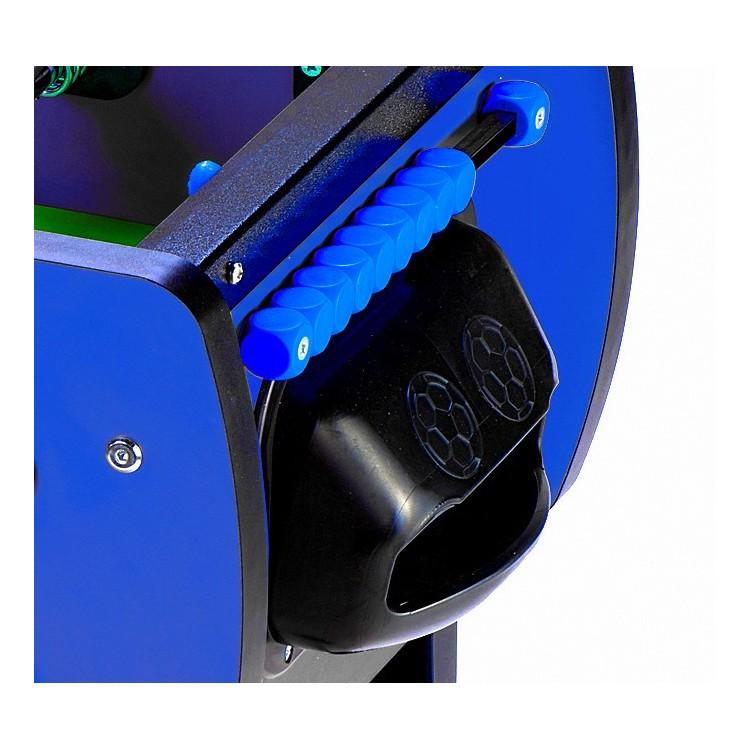 Calciobalilla Biliardino Calcetto Roberto Sport ROBY COLOR Blu con Aste Rientranti Telescopiche da Interno