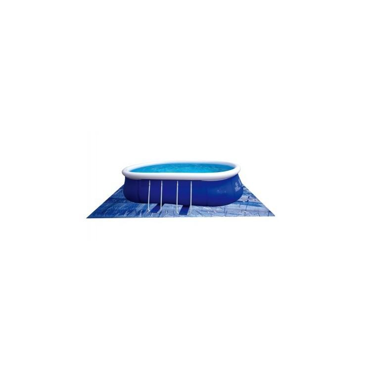 Telo Base Blu per Piscine Fuoriterra Ovali da 540x304cm Jilong
