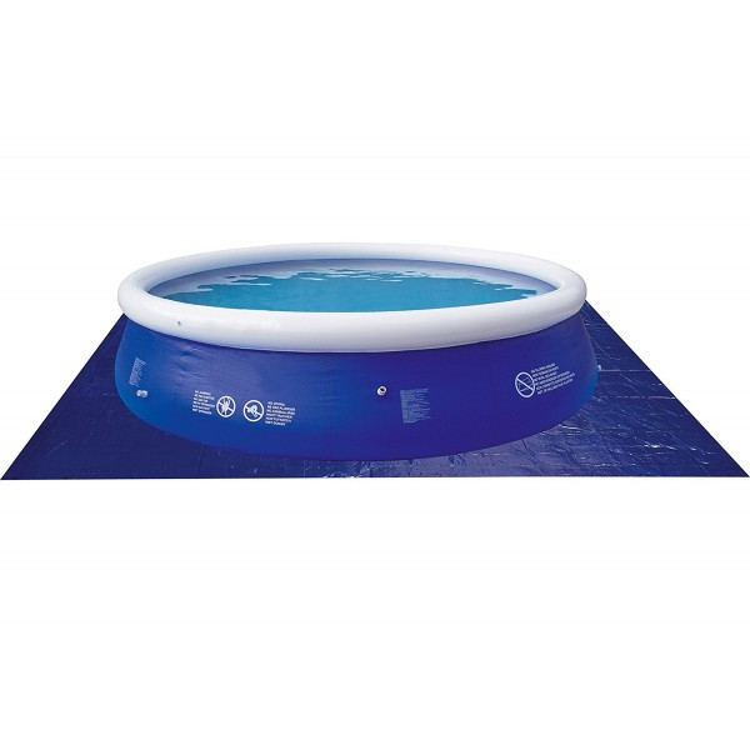 Telo Base Blu Jilong per Piscine Fuoriterra Rotonde da 360 Cm Prompt Set e con Struttura