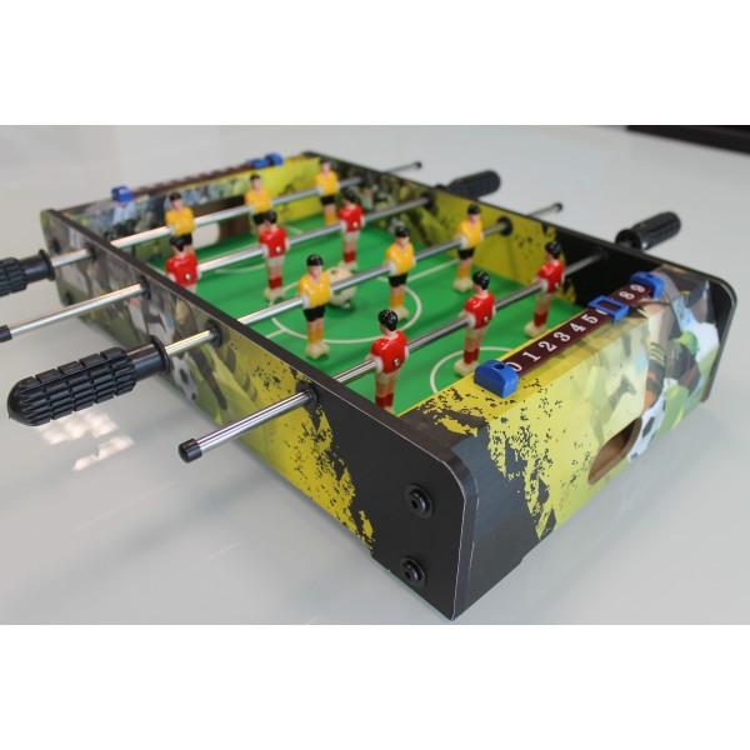 Mini Calciobalilla Biliardino da Tavolo Moko Cm 51x51x10 da Interno
