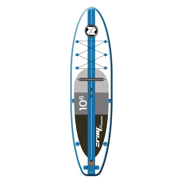Tavola Gonfiabile Cm 320x81x15 Stand Up Paddle SUP Convertibile Kayak ZRAY Pagaia inclusa A2 Jilong