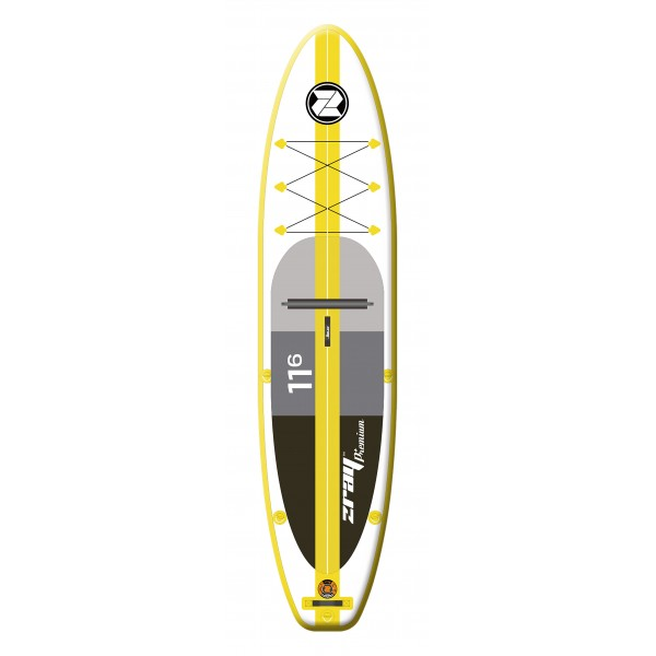 Tavola Stand Up Paddle SUP Gonfiabile ZRAY A4 da Cm 320x81x15 Convertibile in Kayak - Touring Sup Board