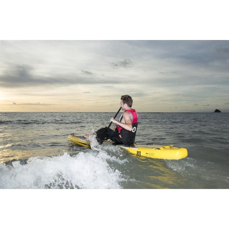 Tavola Stand Up Paddle SUP Gonfiabile ZRAY R1 SUP da Cm 381x76x15 - Racing SUP Board