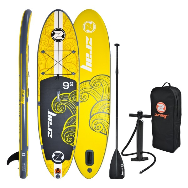 Tavola Stand Up Paddle Gonfiabile SUP ZRAY X1 da Cm 297x76x15 All Around Multiboard