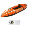 Kayak Canoa Gonfiabile Monoposto ZRAY Pathfinder-I pagaia a doppia pala e pompa mantice inclusi