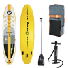 Tavola Stand Up Paddle SUP Gonfiabile ZRAY A4 PREMIUM da Cm 350x81x15 Convertibile in Kayak - Touring Sup Board