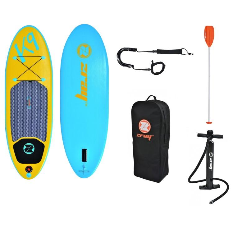 Tavola Stand Up Paddle SUP Gonfiabile ZRAY K9 Cm 244x76x10 - Teen's Board Per ragazzi