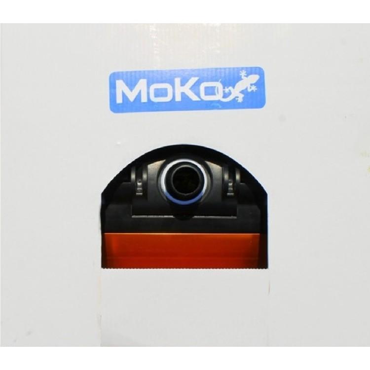 Aspirafango Scopa Professionale in Alluminio Standard Pulizia Piscina Moko - Cm 36