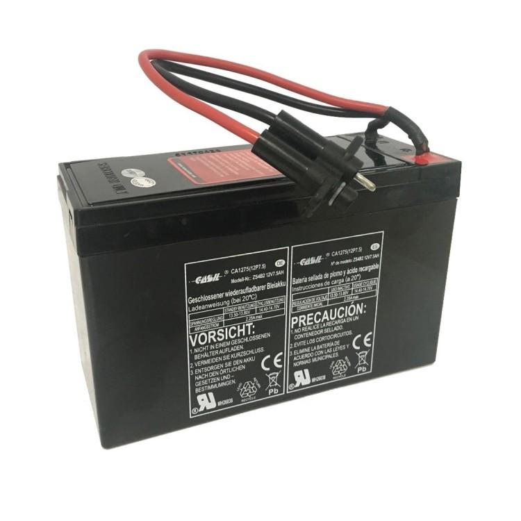 Batteria per Seascooter YAMAHA SEAL - EXPLORER 12V -7,5AH