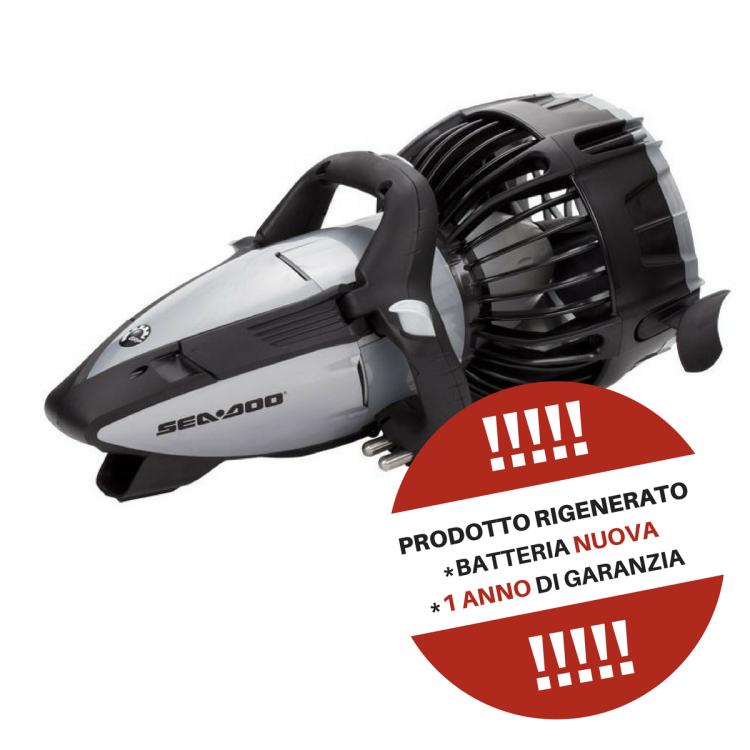 RIGENERATO - Seascooter Acqua Scooter Elettrico SeaDoo RS2