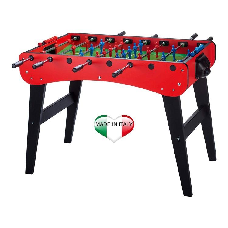 Biliardino Calciobalilla Calcetto Calcio Tavolo FAMILY Rosso