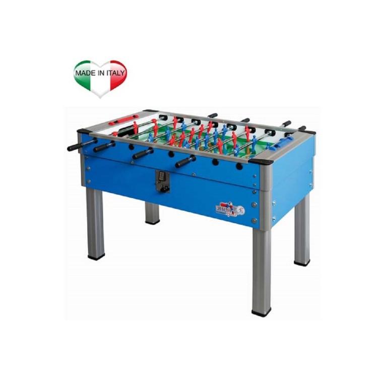 Calciobalilla Biliardino Calcetto Roberto Sport NEW CAMP SUPER Azzurro