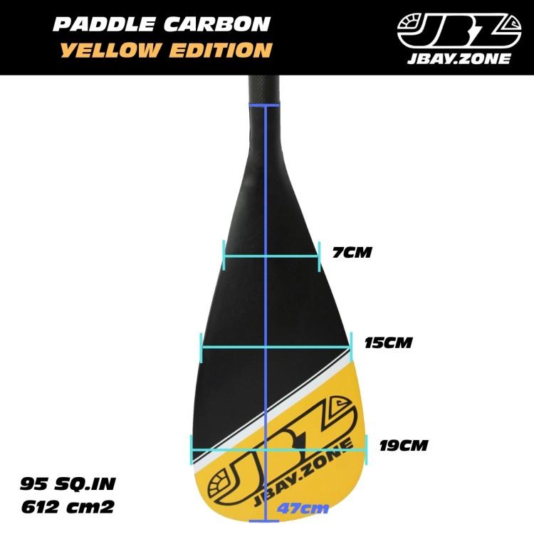 Pagaia Estensibile JBAY.ZONE Specifica per SUP 170-215cm Carbonio
