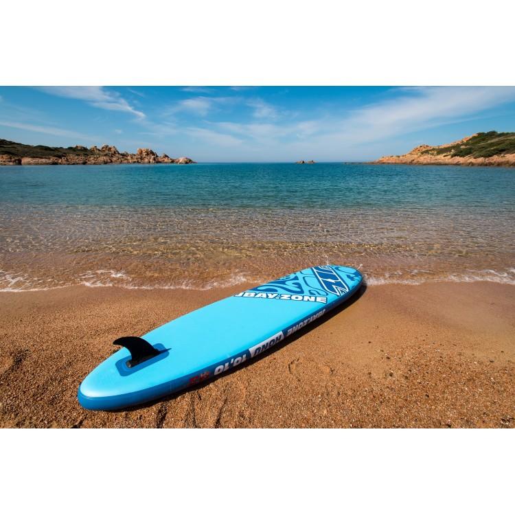 Tavola Stand Up Paddle Gonfiabile SUP JBAY.ZONE Honu H2 da Cm 330x76x15
