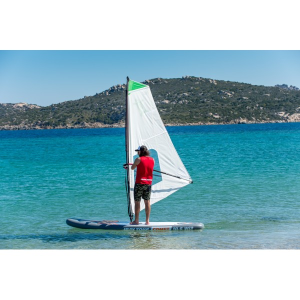 Tavola Stand Up Paddle Gonfiabile SUP JBAY.ZONE COMET WIND SUP 10'6'' da Cm 320x81x15 Windsurfing SUP Board