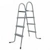 Scaletta Standard 3 Gradini Jilong Grigia per Piscine Fuoriterra 109Cm max