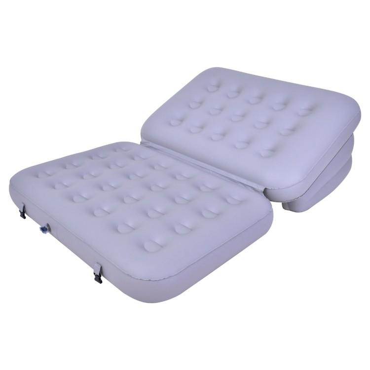 Materasso Sofa Bed Gonfiabile Multifunzione 5 in 1 Jilong Grigio con Pompa Elettrica Esterna e Sacca Inclusi