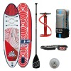 Stand Up Paddle Inflatable SUP JBAY.ZONE AMURA 297x81x10cm Beginnser's Board