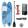 Inflatable Stand Up Paddle SUP JBAY.ZONE HONU H2 Cm 330x76x15 with Accessories