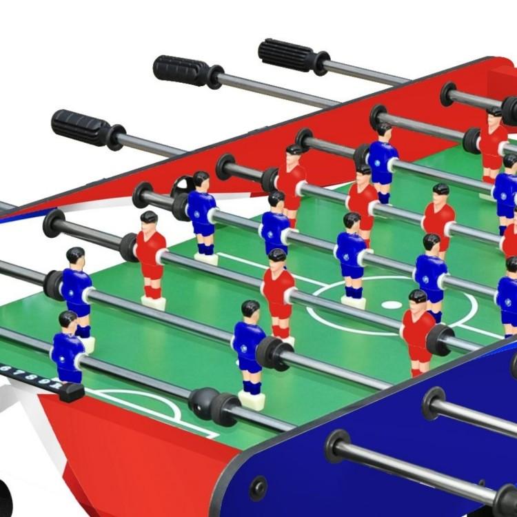 Calciobalilla Biliardino Moko con Aste Rientranti da Interno
