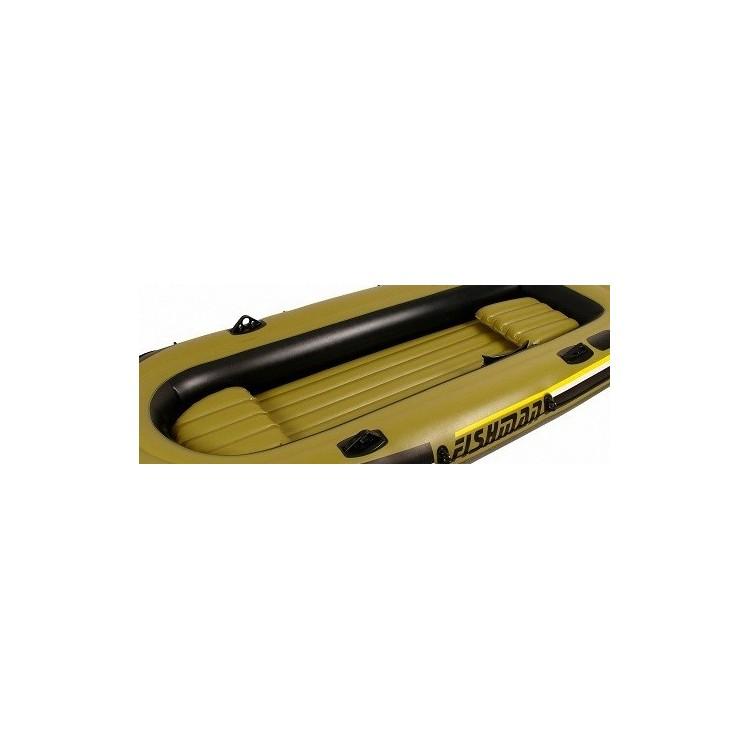 Gommone Tender Canotto Jilong FISHMAN 400 Gonfiabile  Cm 340x142 Remi Pompa Inclusi Motorizzabile